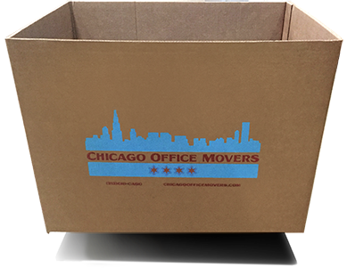 Chicago Office Movers Storage containers