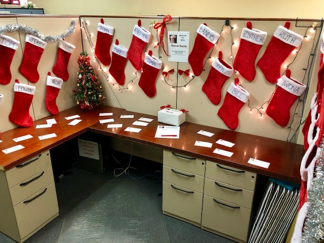 Secret Santa Cubicle