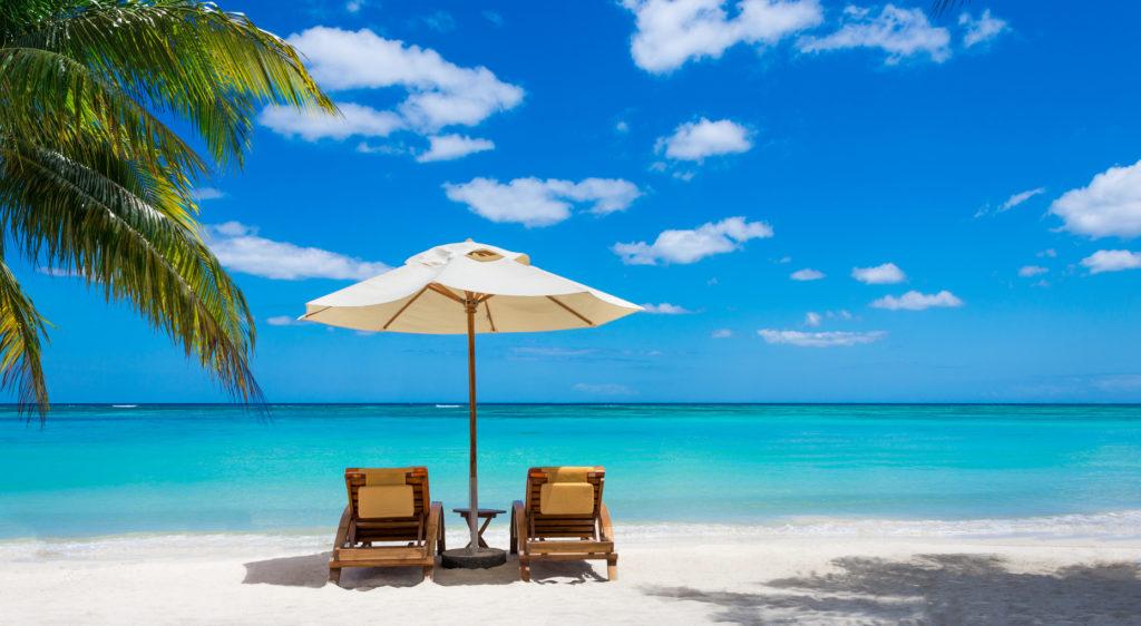Tropical-Beach-Palm-Trees-Ocean-2-Chairs