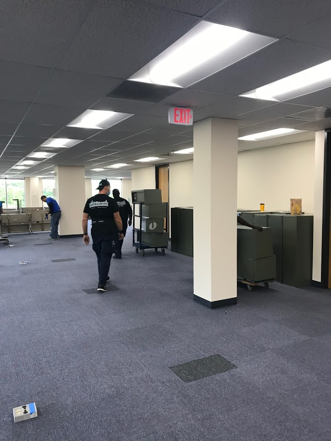 Moving Furniture Into Commercial Space