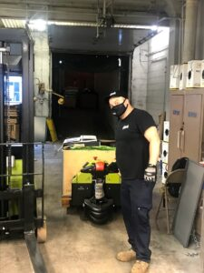 Shipping Out Old Moving Boxes - Chicago Office Movers