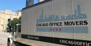Chicago Office Movers Truck