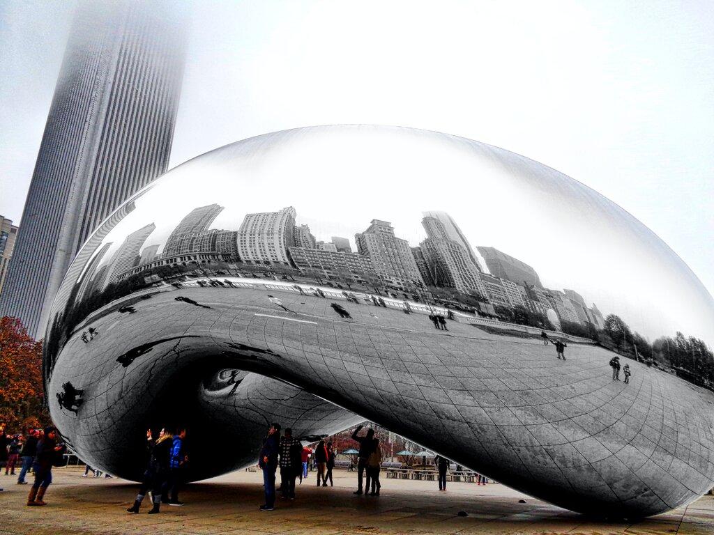 Chicago Cloud Gate - Bean